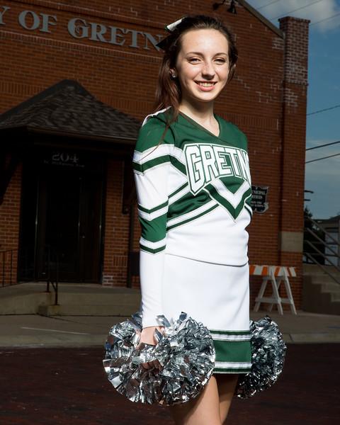 Gretna High School Cheer Squad 2016 Photo Session