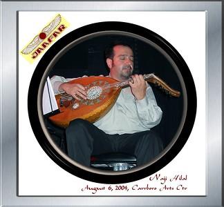 Jaafar Music - August 6, 2004, Carrboro ArtsCenter - Susan's Memorial