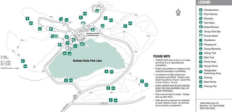 Bonham State Park