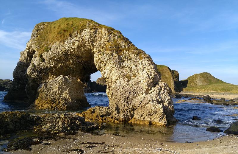 Arch Rock Ballintoy Coast, County Antrim, Northern Ireland