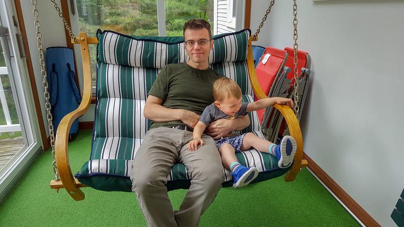 Swing Higher DAD!