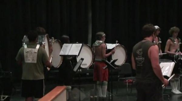 2008-08-06: Band Camp Day 3 - Auditorium