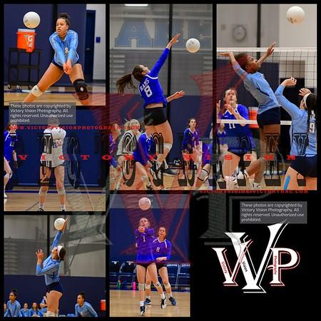 Robinson @ Colgan Varsity Girls Volleyball 11-6-18 | VHSL Regional Playoffs