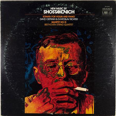 Angel-Melodiya SR-40189 Shostakovich Sonata Violin