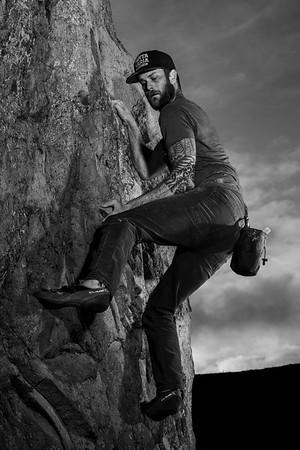 Bouldering at Bishop's Peak