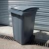 360 L wheelie bin; could be black/dark grey, hot rod flames to be added