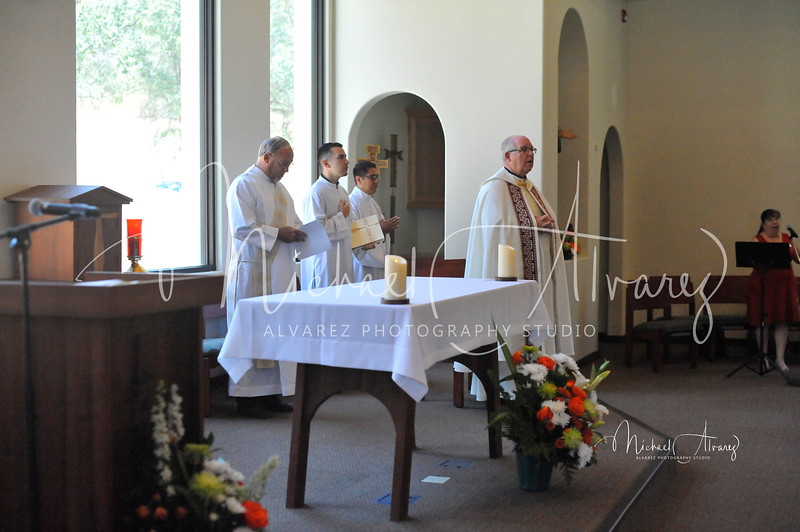 Dedication of St Junipero Serra Chapel
