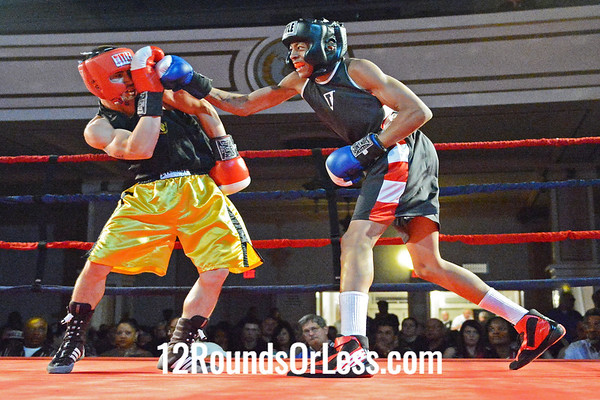 Bout #11 Jose Sandler, West Side BC, (Cleve) vs Johnny Ford, Lorenzo Scott BC(Alliance) 125lbs Novice
