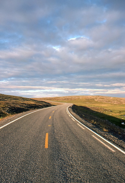 Tundra Road - Somewhere between Hopseidet and Ifjord, Norway - July 1989