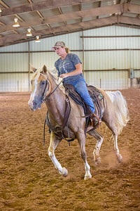 Cow Horse Show - Gould Arena - 7-10-21