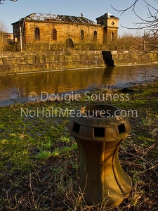 'Pumphouse' 07 January 2012 - on site at the Clyde Graving Docks (built 1869 - 1894). Govan, Glasgow, Scotland
