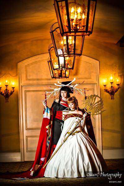 Sakura (Cian-Fionn) and Yuuko (Elrowiel) from Tsubasa