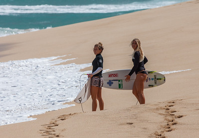 Coco Ho and Zoe McDougall
