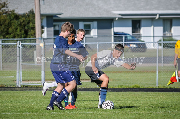 Bay City Central Soccer 9-8-14