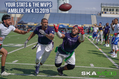 4.13.2019 - Your Stats, MVPs, and More!