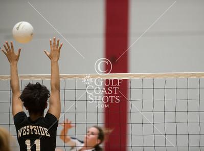 2013-09-13 Volleyball Varsity Girls Lamar v Westside