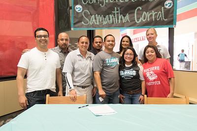 Socorro High School Samantha Corral Signing