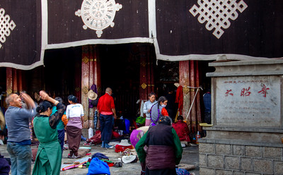 Jokhang Monastery 大昭寺 , Lhasa, Tibet