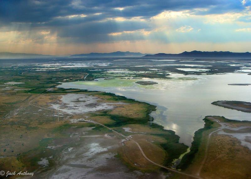 The Great Salt Lake, Utah