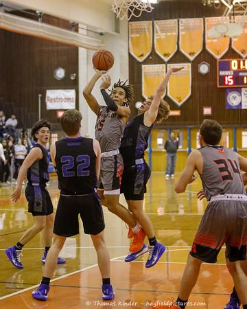Boys Varsity Basketball v West Potomac 1/21/20