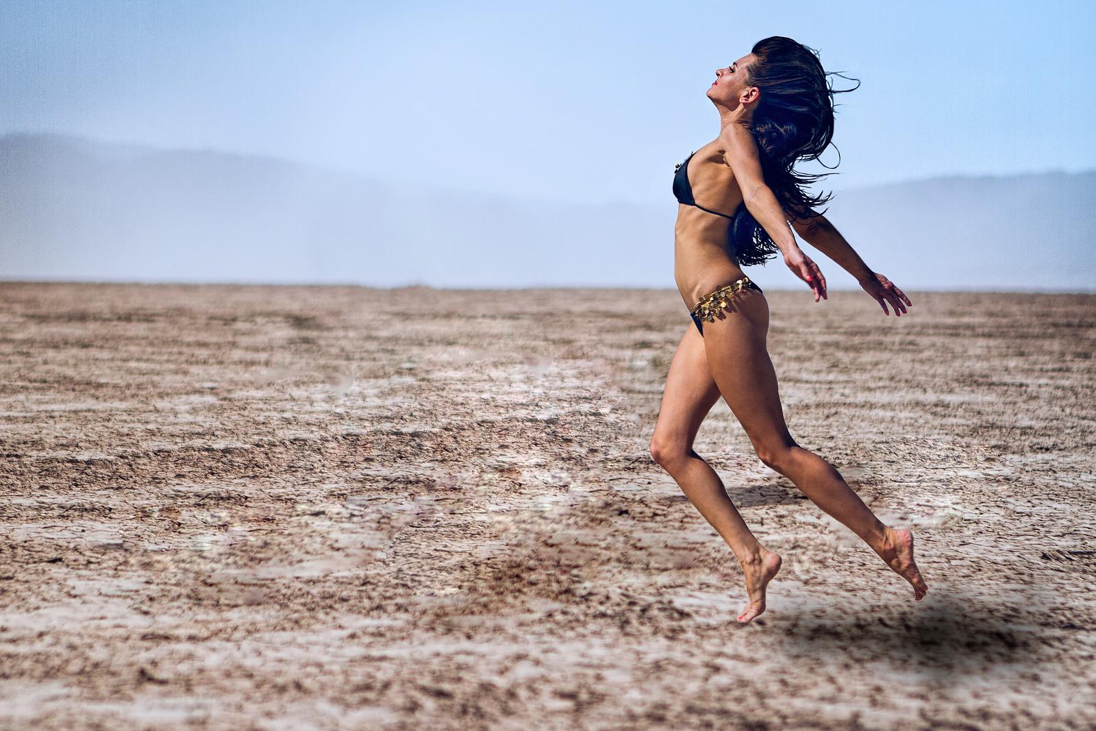 Bikini Desert Shoot