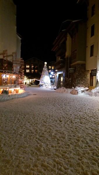 Skiing Tahoe