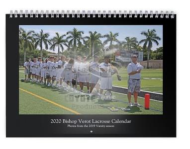 2020 Bishop Verot Lacrosse Calendar