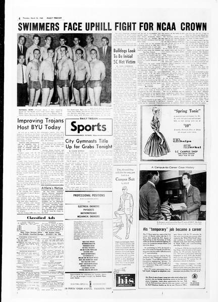 Daily Trojan, Vol. 51, No. 92, March 24, 1960