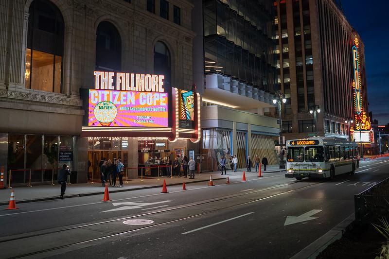 2019 April 13 - Mayaeni, The Fillmore Detroit: Usaf Alcodray