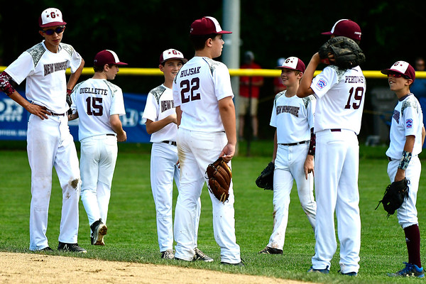8/9/2018 Mike Orazzi | Staff Goffstown Junior Baseball Little League Thursday at Breen Field in Bristol.