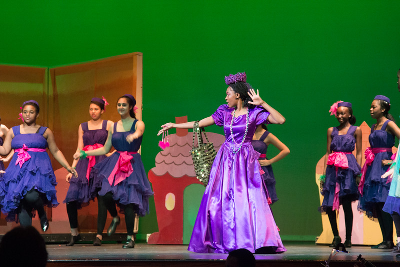 """He's the Wizard"" -- ""The Wiz"", Montgomery Blair High School spring musical, March 26, 2017"
