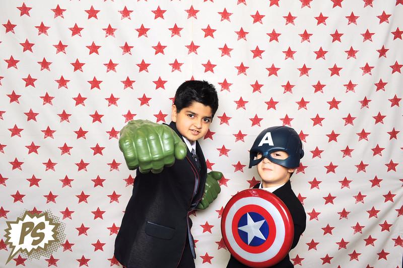 Sumitra & Pramod - Superheroes Booth