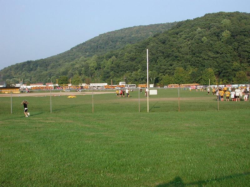 Looks like high school fun here in Keyser. Taken thursday Sept 14, 2006.