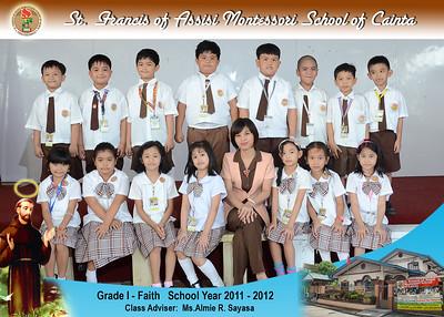 Class Photos SY 2011-2012