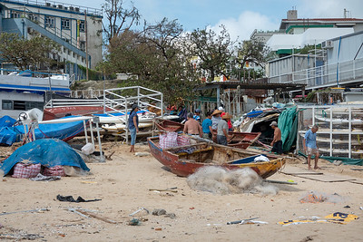 Stanley clean up post typhoon