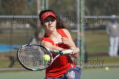 Tennis - High School Girls Portsmouth at Middletown  on 10/17/20