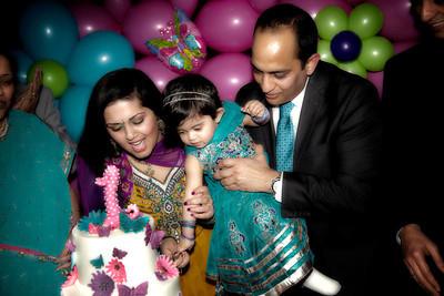 Saanvi's 1st Birthday