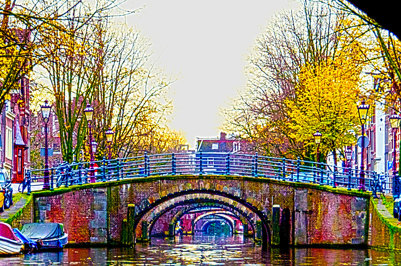7 Bridges of Amsterdam