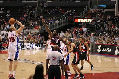 Blazers @ Clippers: Preseason 2009