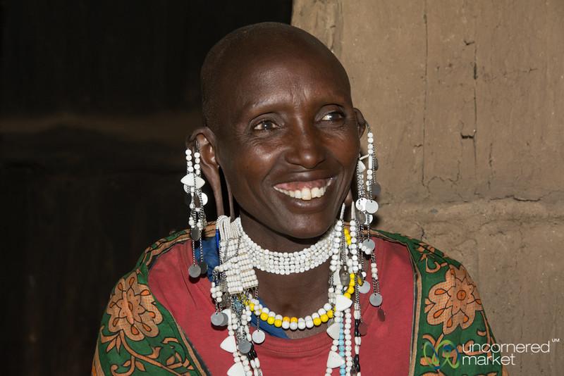 Maasai Woman, Owner of a Clean Cookstove - Tanzania