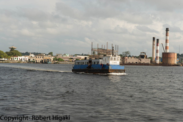 Ferry across Havana Harbor