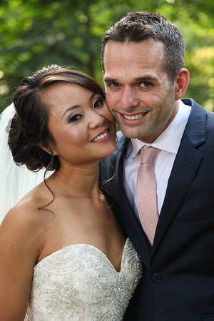 My Na + Nick: A Lovely Avon Gardens Wedding