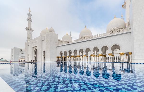 Grand Mosque, Abu-Dhabi