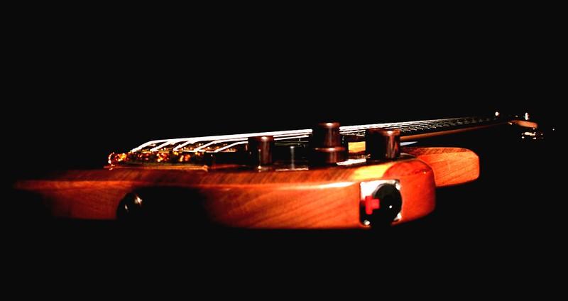 008 Marozi 5-string bolt-on prototype. Photos: Marc Pagano
