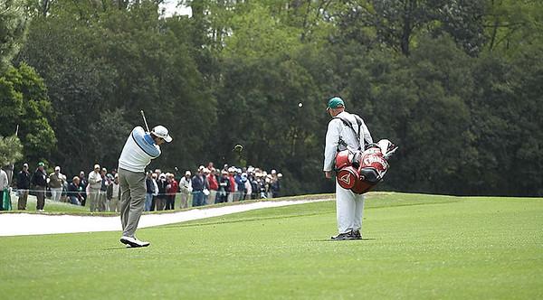 Masters Practice Round - April 7, 2009