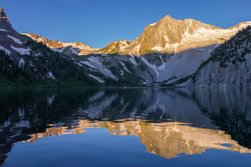 Snowmass Lake Reflection