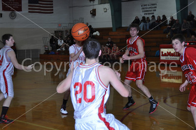 La Moille vs Indian Creek Boys Basketball, Biddy Basketball and Mini Cheerleaders, Jan. 17, 2012