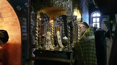 24/9/2019 Θεία Λειτουργία στην Ι.Μ.Αγ.Αναργύρων Πέρνικ