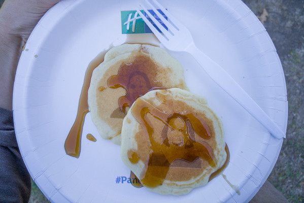 The Holiday Inn Express Pancake Selfie Truck