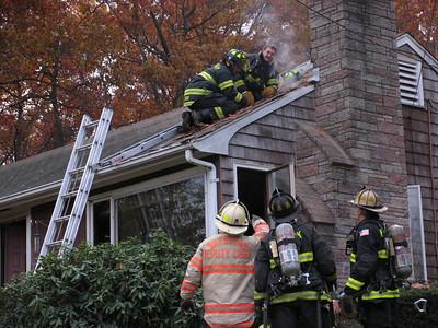 Green Street, Wrentham - House Fire: November 19, 2007